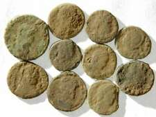 New ListingIvlla 10 Ancient Roman Coins Uncleaned and As Found 02103