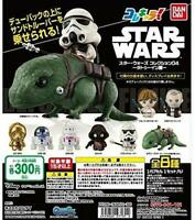 BANDAI Star Wars 04 Tattoo in Gashapon 8set mascot capsule Figures Complete set