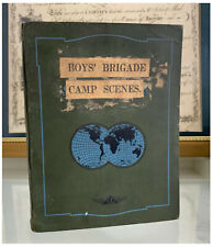 More details for boys brigade 1930s 40s original scrapbook camp scenes rp postcards photos etc