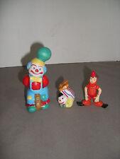 Lot of Three Clowns