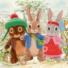 "12"" Peter Rabbit Lilly Bobtail Benjamin Bunny Stuffed Plush Soft Toy Kids Gifts"