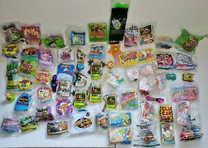 Wendy's Kids Meal Toys - 1981 to 1999 - Your Choice - Choose What You Need or Wa