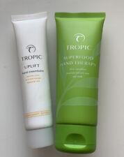 Tropic SUPERFOOD HAND THERAPY  80ml & Uplift Hand Cream Balm 40ml , New