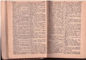 Nemet-magyar es magyar-nemet zsebszotar by Thienemann, hungarian dictionary 1944