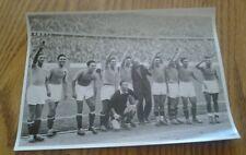 OLYMPIA 1936 PHOTO CARD NO. 143 ITALIAN SOCCER TEAM