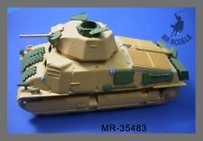 1/35th MR Models German Somua 35 S 739 (f) upgrade and gun barrel