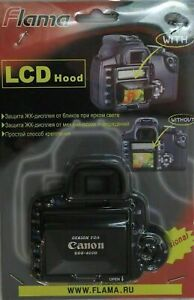 Pop-Up Shade LCD Screen Hood Cover for Canon EOS-400D