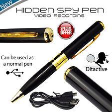 MINI nascosta Spy Security 640p Video Foto Videocamera registrazione penna di ricarica USB