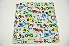 Baby Blanket Ambulances Firetrucks Police Trains Can Be Personalized 42x42