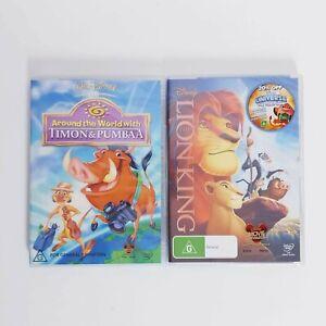 The Lion King + Timon & Pumba DVD Movie Free Post Region 4 AUS - Kids Family