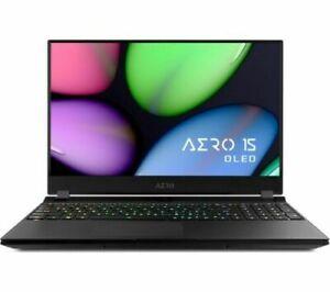 GIGABYTE AERO 15 Intel i7-9750H 256GB SSD GTX 1660 15.6''RGB BK 4K Gaming Laptop