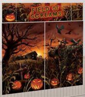 FIELD OF SCREAMS SCENE SETTER Photo Backdrop Party Wall Decoration Halloween