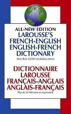 Larousse's French-English English-French Dictionary by Larousse Staff