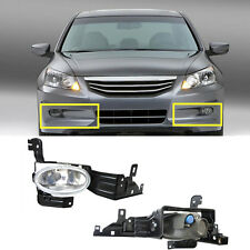 2x For Honda Accord 8th generation models 2011-2012 2*Front Fog Lamp (no bulbs)
