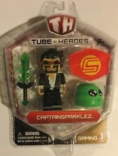 ! Tube Heroes Captain Sparklez Pack with Figure & Tools Set