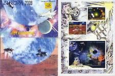 Europa cept 2009 astronomía-albania Herzegowina 3316-18 marcas cuaderno MH **
