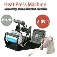 Portable Transfer Sublimation Cup Coffee Mug Heat Press Machine Digital Printing