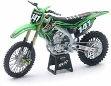 Bud Racing Kawasaki KXF450 Die-Cast Motocross Toy Model Bike motorbike 1:12 #141