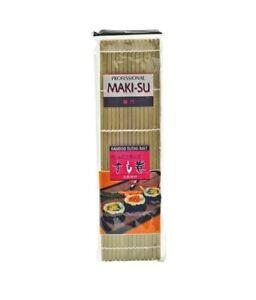 SPAREN: Sushimatte Bambusmatte Sushi Sushimaker 27cm Sushi Matte breite Stäbe