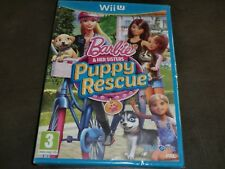 BARBIE AND HER SISTERS PUPPIE RESCUE NINTENDO Wii U NEW SEALED