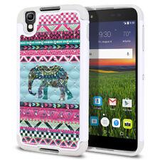 For Alcatel Idol 4 6055/ Nitro 4/ Blackberry DTEK50 Bling Hybrid Case Cover