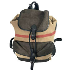 burberry nova check canvas backpack Large Unisex Travel