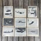 VTG US Navy Flying Aircraft On Parade Torpedo Bombers Photos Prints Lot of 9