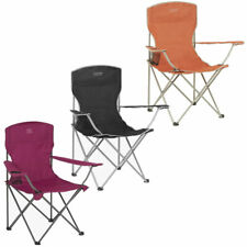 Highlander Folding Camping Chair Garden Patio Beach Picnic Fishing Outdoor Seat