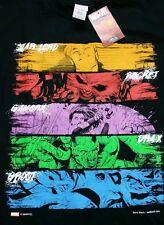 Marvel Comics Guardians of the Galaxy Black Medium Graphic T Shirt