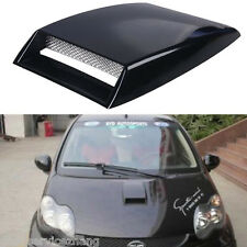 Universal Car Plastic Carbon decorative Air Flow Intake Scoop Turbo Bonnet Vent