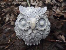 "Latex small owl Mold Plaster mold Concrete mold 2.75"" x 2.5"""