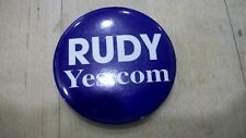 Rudy Guiliani Button NYC Mayor 2008 Presidential Republican pins