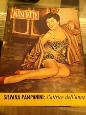 MASCOTTE N°16 1955 PAMPANINI GABY ANDRE' TOTO' LOREN REMY D.GODET PINUPS VINTAGE