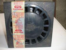 siphon de cour NICOLL SC679 200X200mm gris foncé