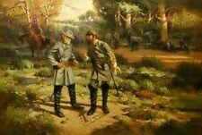 SUMMERS We've Got Him! Robert E Lee Stonewall Jackson Civil War 4 Bonus Prints