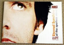 Eternal Sunshine Of The Spotless Mind rare promo book Jim Carey Kate Winslet