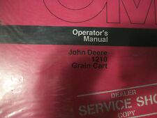John Deere Operator'S Manual 1210 Grain Cart Issue D6