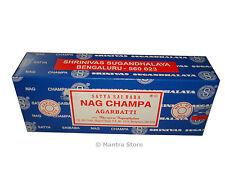 Nag Champa 250 Grams Box Original Incense Sticks New - FREE SHIPPING