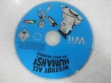 Destroy all humans big willy unleashed Wii disc only