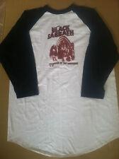 BLACK SABBATH 2002 PROMO UNWORN Baseball T shirt for Symptom CD Ozzy Osbourne