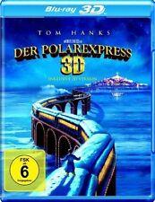 DER POLAREXPRESS (Tom Hanks) Blu-ray 3D (inkl. 2D Version) NEU+OVP