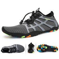 Men's Water Shoes Barefoot Quick-Dry Aqua Beach Surf Pool Swim Exercise US 15