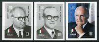 Italy 2018 MNH Presidents Scalfaro Gronchi Saragat 3v S/A Set Politicians Stamps