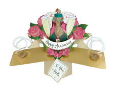 Happy Anniversary Pop-Up Greeting Card Original Second Nature 3D Pop Up Cards