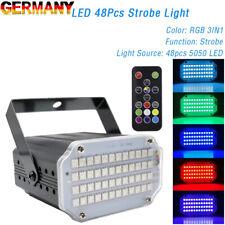 Mini Stroboskop Disco Licht Strobe Light Fast Flashing Disco LED Stroboscopic DE