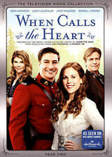 WHEN CALLS THE HEART, YEAR TWO (Lori Laughlin, Jack Wagner) 5 DVD SET [V15]