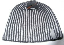 Mens Knitted Hat Head Grey & Black New Ref 325