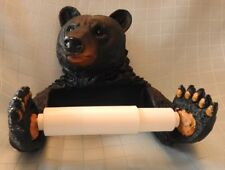 #109 / 19 Bear Toilet Tissue Holder