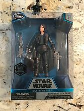 Star Wars Sergeant Jyn Erso Elite Series Die Cast Action Figure 6 1/2""