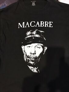 Macabre Murder metal Ed Gein Shirt